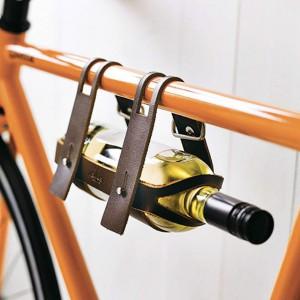 Accroche bouteilles de vin pour vélo