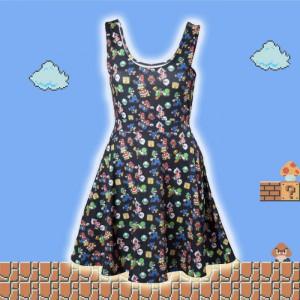 Robe Noire Nintendo Mario Personnages