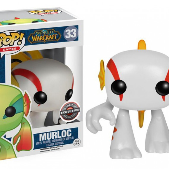 Figurine Pop Murloc White World of Warcraft