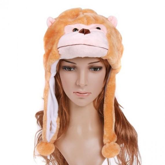 Chapeau forme de singe