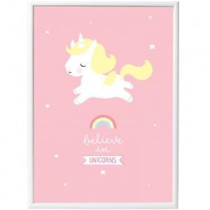 Affiche Licorne