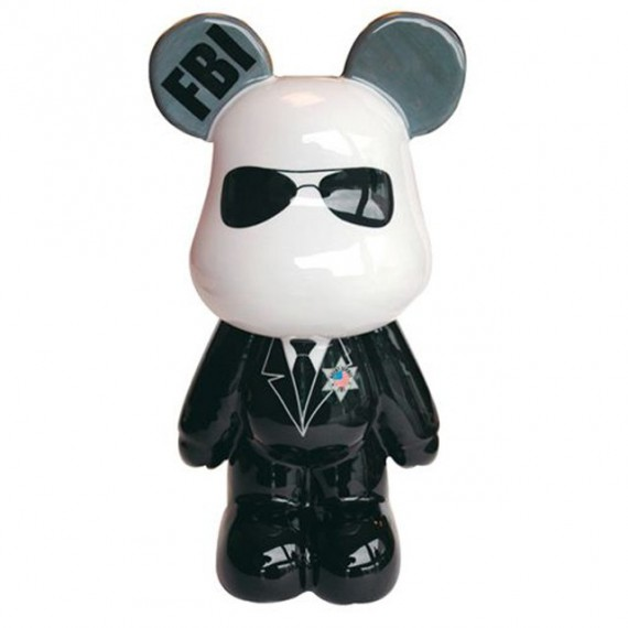 Funky Bear Geant Agent du FBI