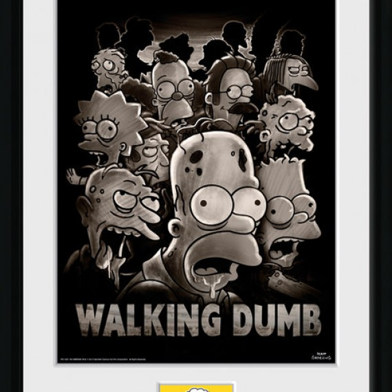 Cadre Simpsons The Walking Dumb