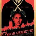 Affiche Freedom Forever V pour Vendetta