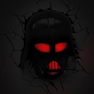 Lampe murale 3D Star Wars Dark Vador