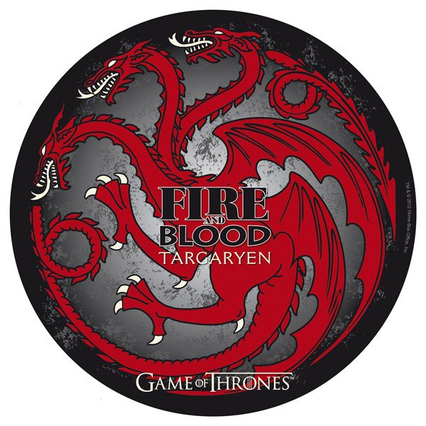 tapis de souris game of thrones targaryen. Black Bedroom Furniture Sets. Home Design Ideas