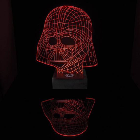 Lampe Illusion Dark Vador Star Wars