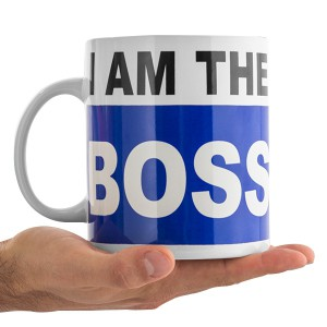 Mug XXL I am the boss