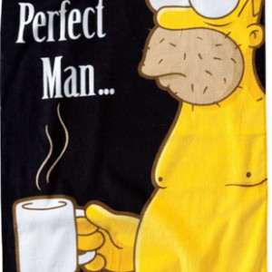 Serviette Homer The Last Perfect Man Simpson