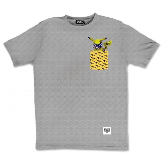 T-shirt Pikachu Gangsta Pokémon