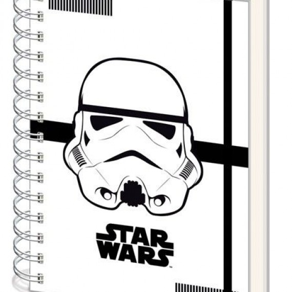 Notebook A5 Spirale Stormtrooper Star Wars