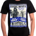 T-shirt homme Rock Wars Versus Star Wars