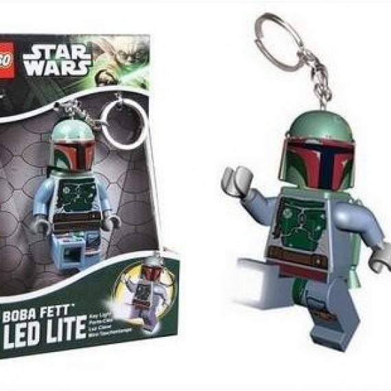 Porte-clefs torche Lego Boba Fett - Star Wars