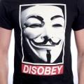 T-Shirt Homme V pour Vendetta - Disobey