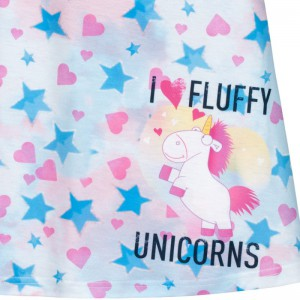 Robe Minions Fluffy Licorne