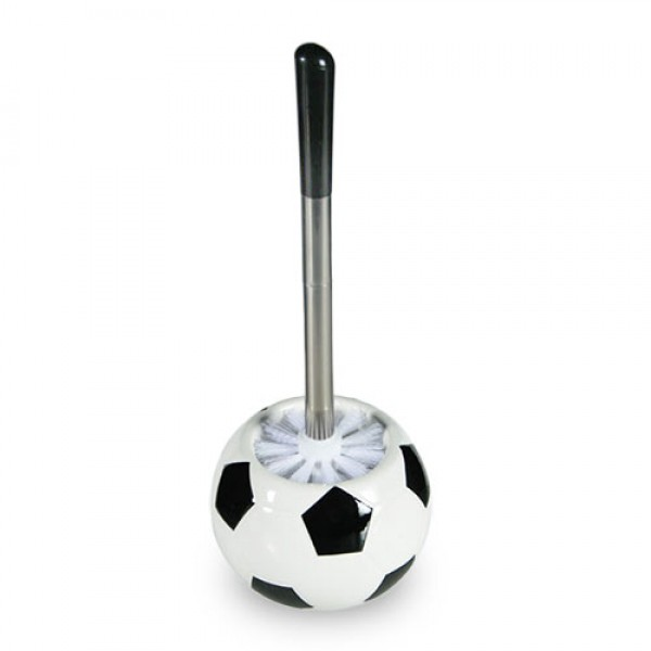 brosse wc ballon de football. Black Bedroom Furniture Sets. Home Design Ideas
