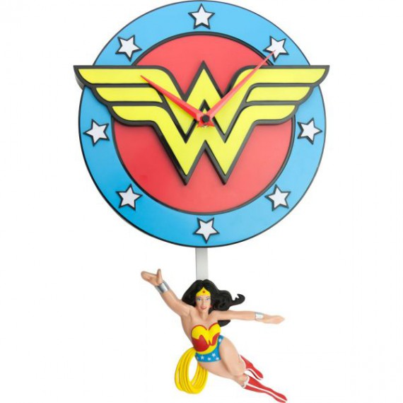 Pendule 3D DC Comics - Wonder Woman