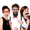 Kit photobooth pour photos marrantes
