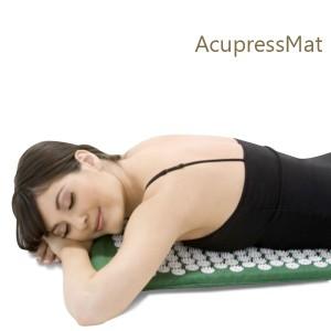 Tapis de relaxation pour séance d'acupuncture