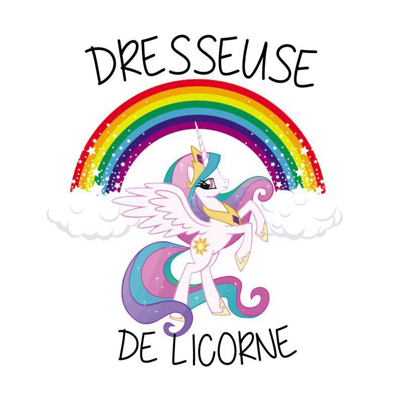 T shirt licorne dresseuse de licorne commentseruiner - Image licorne ...