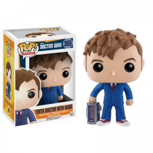 Figurine Doctor Who - 10th Doctor with Hand Pop 10cm