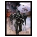Cadre Star Wars Rogue One Death Trooper Beach