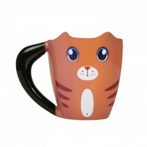 Mug Heat Change Ginger Cat