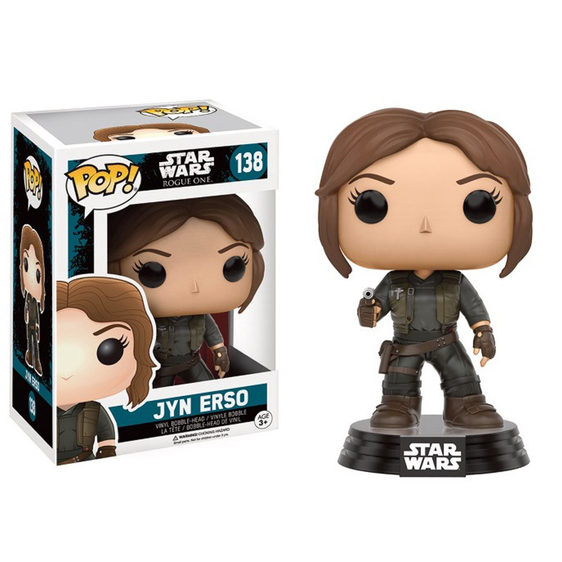 figurine pop star wars rogue one jyn erso. Black Bedroom Furniture Sets. Home Design Ideas