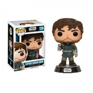 Figurine Pop! Star Wars Rogue One Cassian Andor