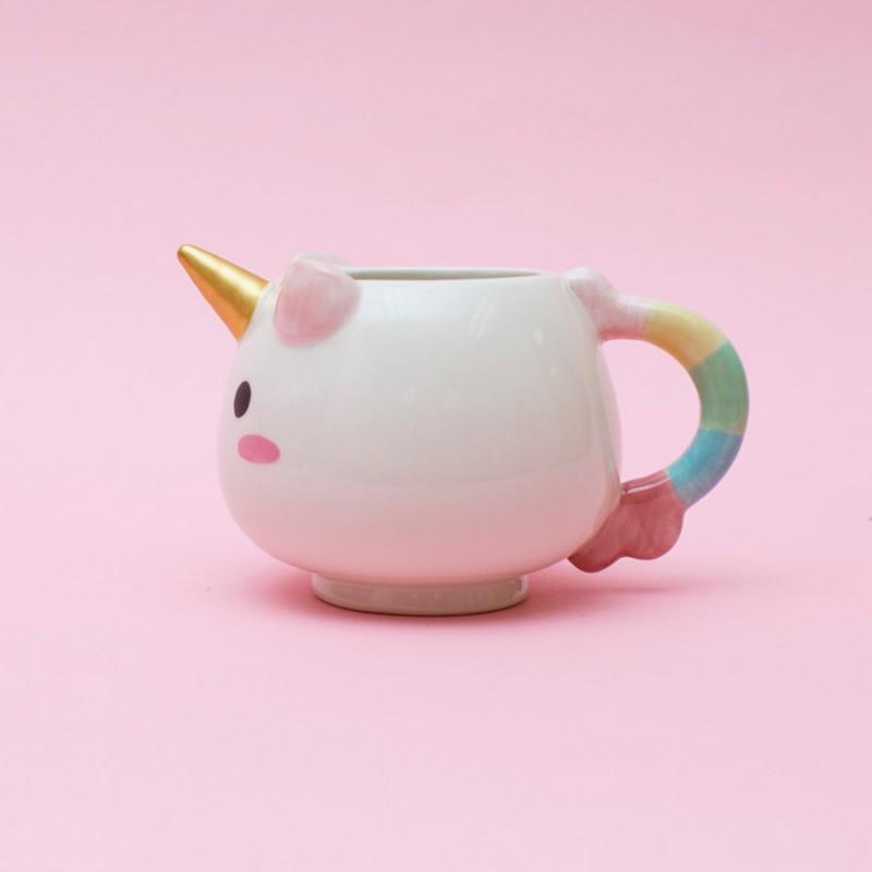 tasse licorne elodie la licorne le mug trop mimi commentseruiner. Black Bedroom Furniture Sets. Home Design Ideas