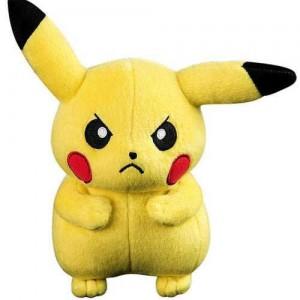 Peluche Pikachu en colère