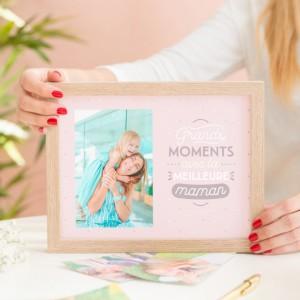 Cadre photos - Grands moments avec la meilleure maman