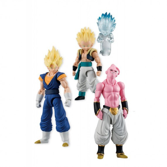 Figurine DragonBall Z - Lot de 3 Figurines DBZ 8 cm