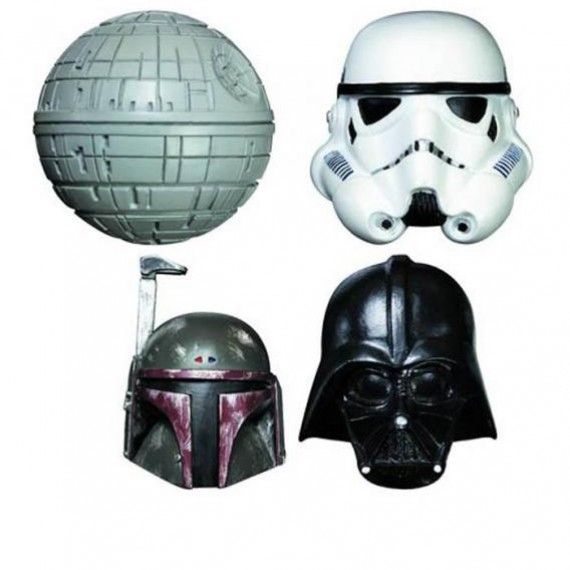 Magnets Star Wars 3D coté obscur