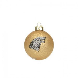 Boule de Noël Game of Thrones Stark