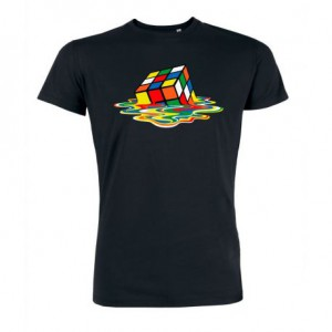 T-shirt The Big bang Theory - Sheldon's Meltin Cube