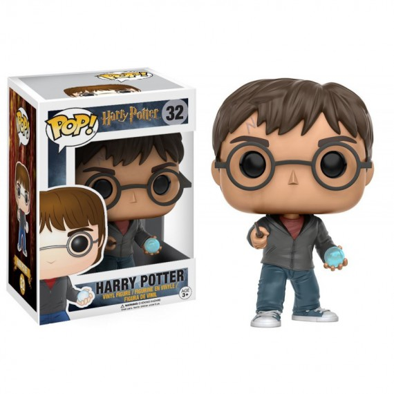 Figurine POP Harry Potter with prophecy