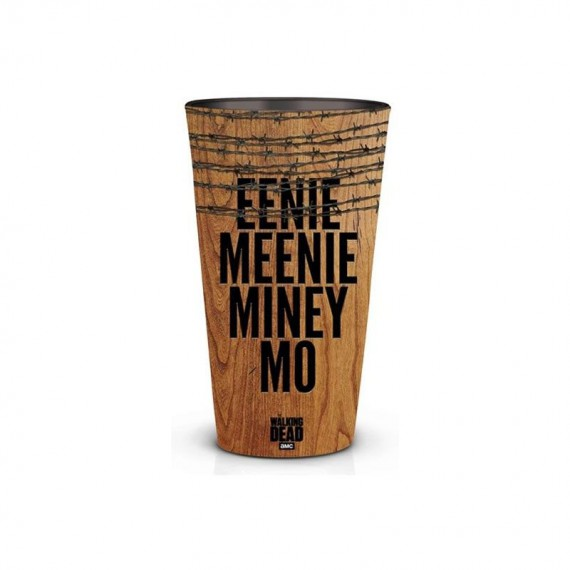 Pinte en Verre THE WALKING DEAD - Eenie Meenie Miney Mo