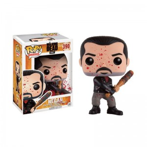 Figurine POP Walking Dead Negan & Lucile Bloody Exclu