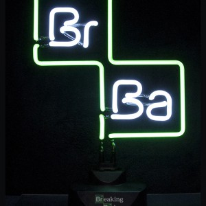 Lampe Neon Breaking Bad