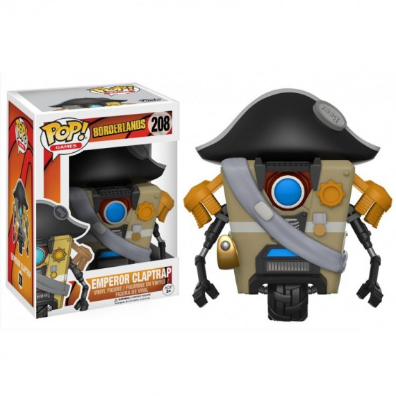 Figurine Pop! Borderlands - Emperor Claptrap