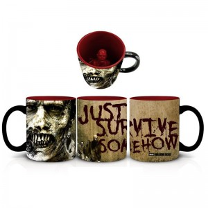 Mug 3D géant The Walking Dead Just Survive