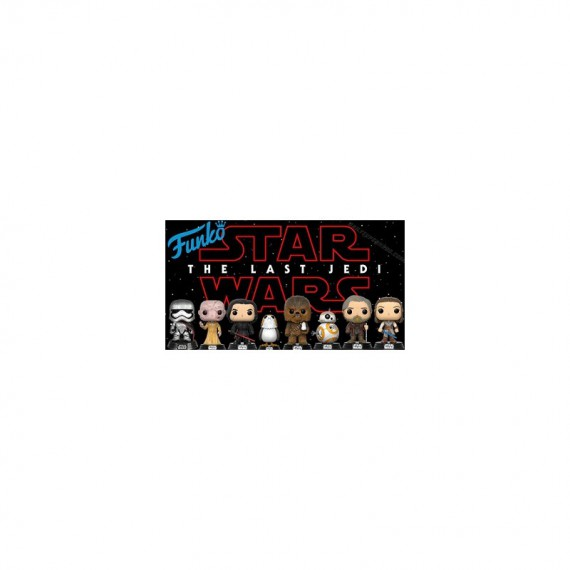 Star Wars Episode 8 - 3 Pop + 1 Mini Mystery