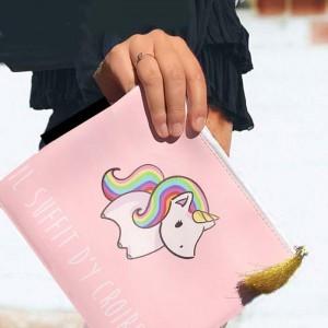 Pochette licorne