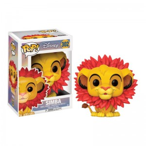 Figurine Disney - Le Roi Lion - Simba Pop 10cm