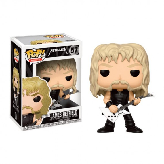 Figurine Rocks Metallica - James Hetfield Pop 10cm