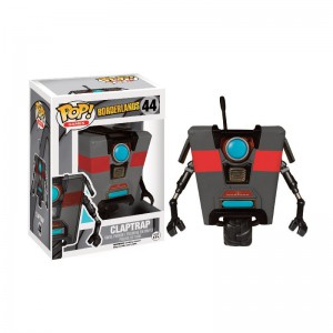 Figurine Pop! Borderlands - Black Claptrap Exclusive