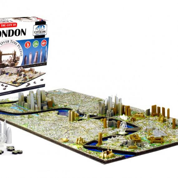 Puzzle 4D CityScape - Jeu de construction - LONDRES