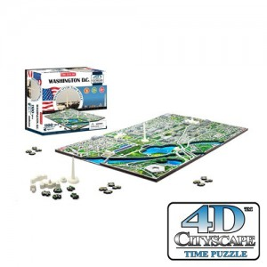 Puzzle 4D CityScape - Jeu de construction - WASHINGTON D.C