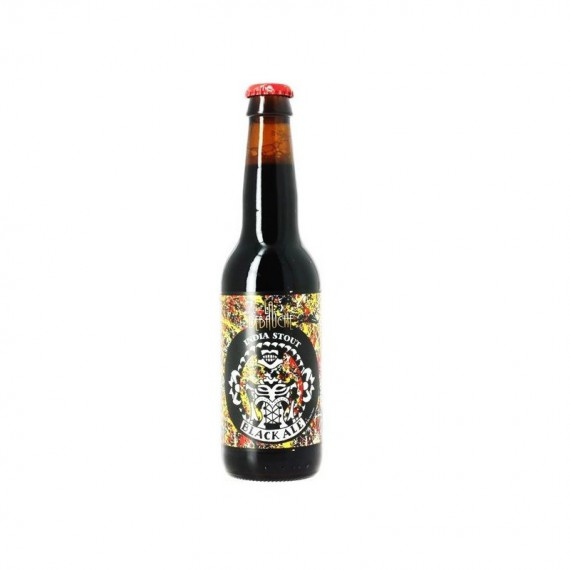 Bière brune - LA DEBAUCHE BLACK ALE INDIA - 0.33L